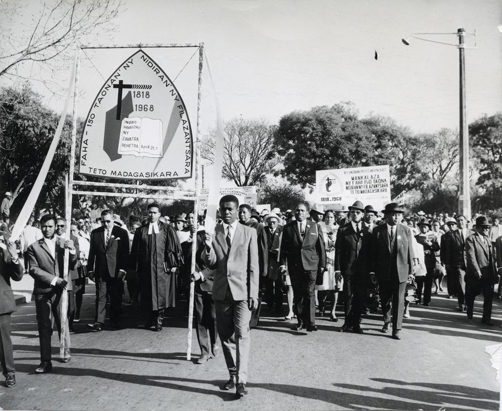 Cent-cinquantième anniversaire de l'arrivée des missionnaires à Madagascar