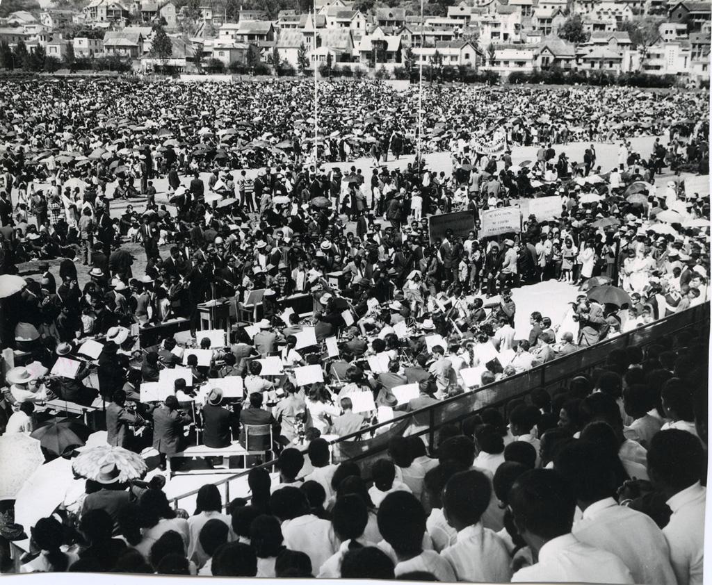 Cent-cinquantième anniversaire de l'arrivée des premiers missionnaires à Madagascar