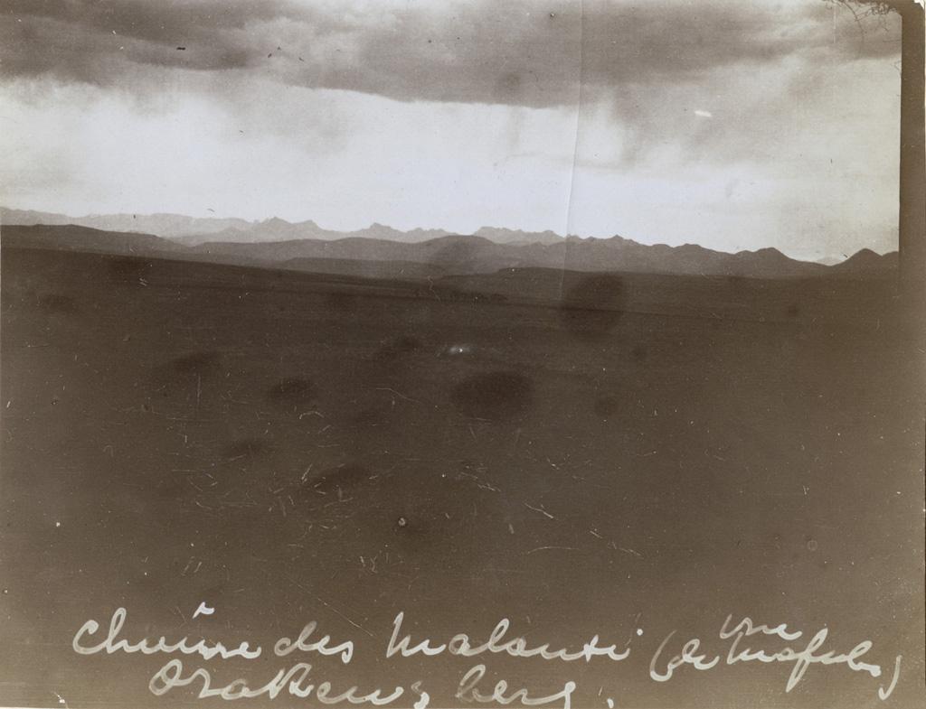 Chaîne des Maloutis (vue de Mafule)