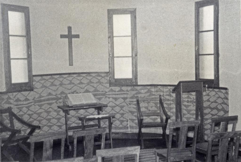 Chapelle de l'Ecole Biblique de Sefula / Fischer (1957)