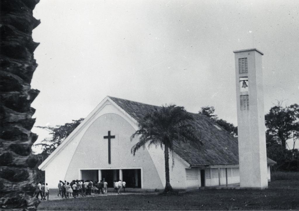 Chapelle du collège de Libamba