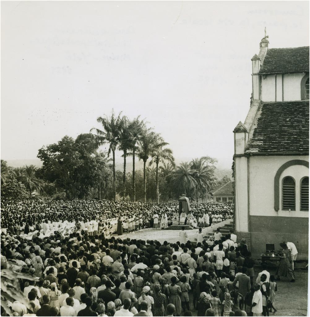 Cinquantenaire du vicariat apostolique de Mvolyé-Yoté