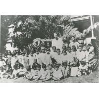 Classe d'une école maternelle de Papeete