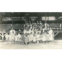 Classe de l'école maternelle de Papeete