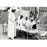 Commerçants venus du nord au marché d'Ebolowa