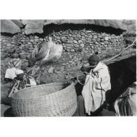 Confection d'un grenier à céréales
