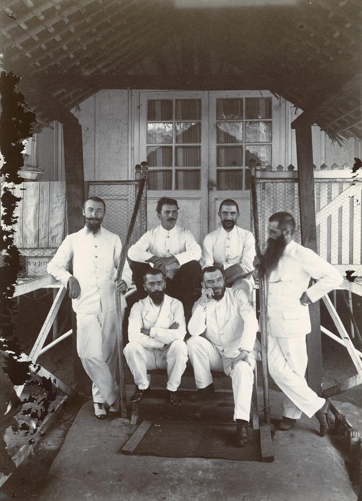 Conférence missionnaire à Talagouga / non identifié (1898/1900)