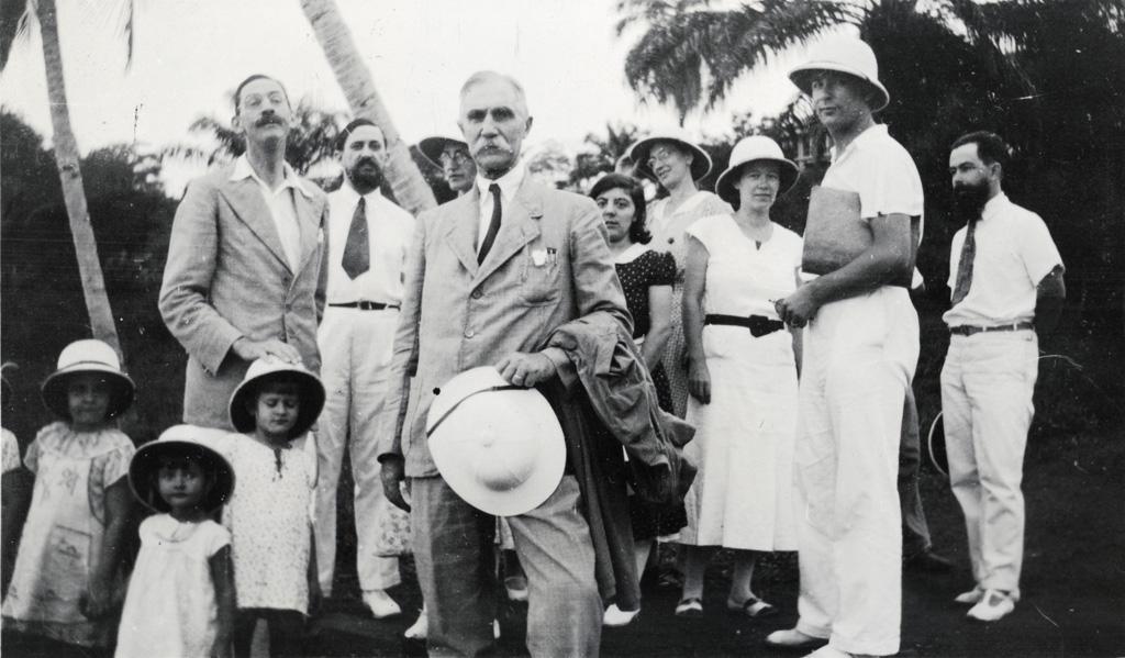Conférence missionnaire au Gabon / non identifié (1936)