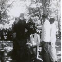 Consécration d'un pasteur indigène