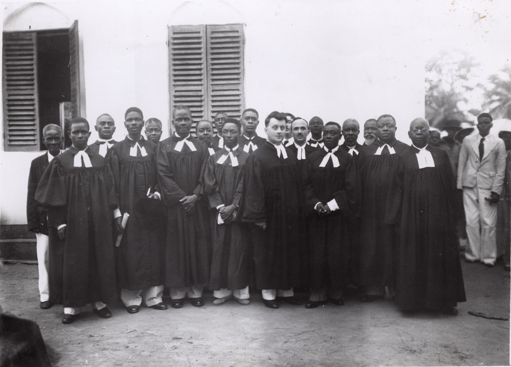 Consécration de Samuel Ebol.., Sakéo Edomo, David Mangan