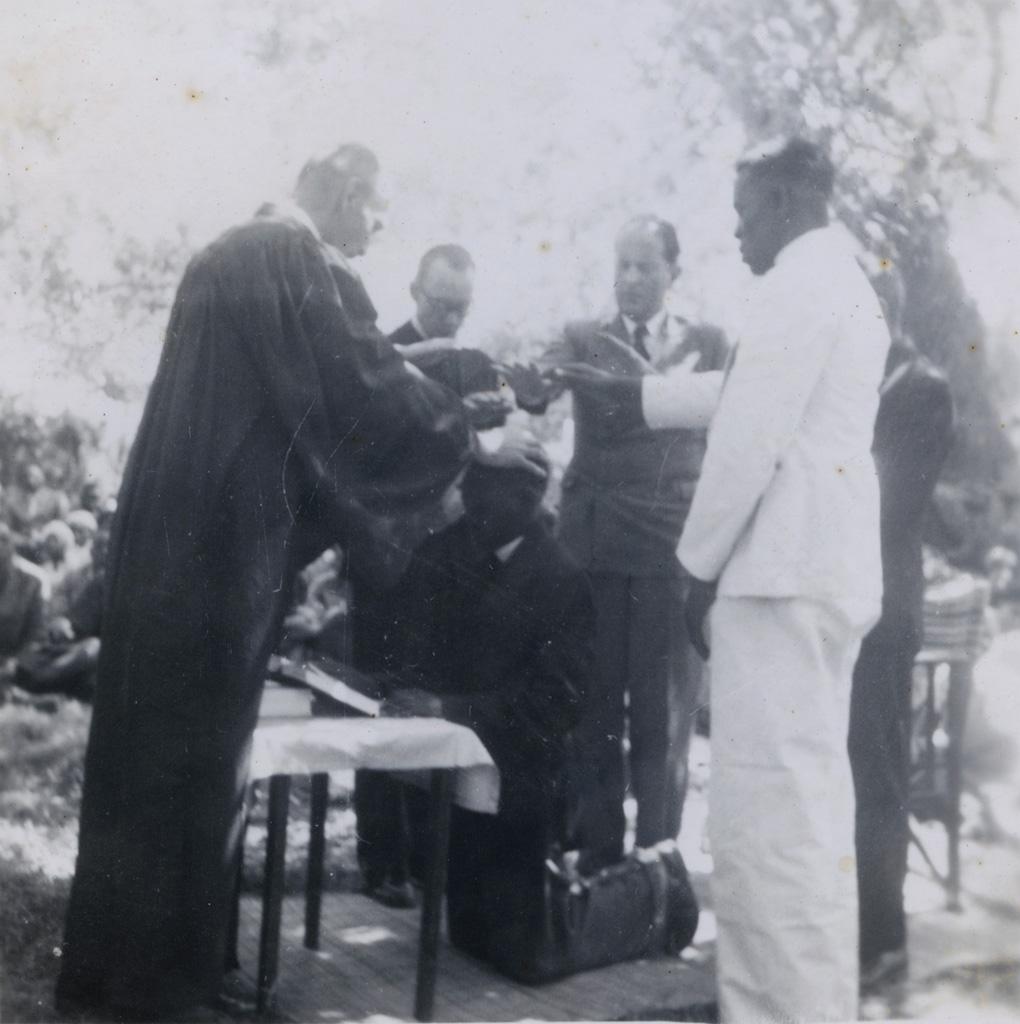Consécration du révérend Musialela, Butaya