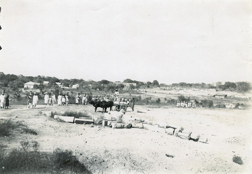 Construction d'une école à Majunga