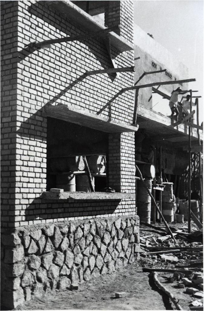 Construction de l'école de filles