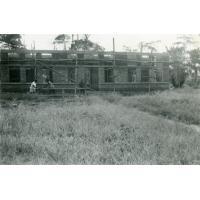 Construction de la léproserie