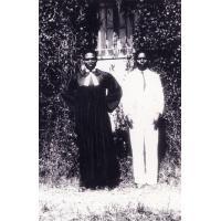 Couple pastoral, hôpital de Ndoungué