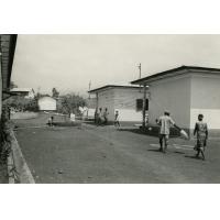 Cour de l'hôpital de Ndoungue
