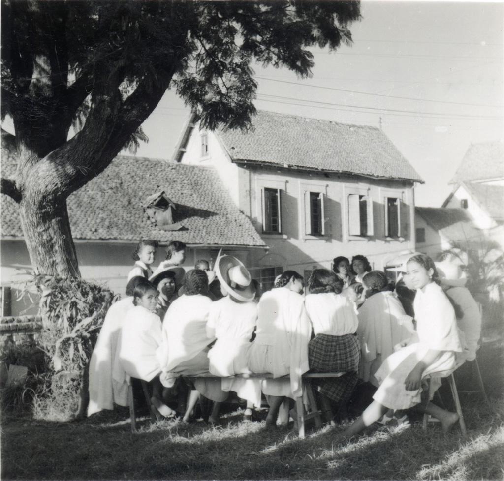 Cours d'enseignement ménager / André Petit (1940/1970)