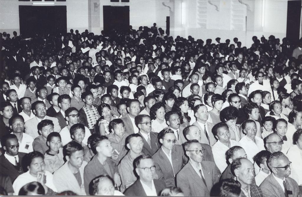 Culte à Tranovato, proclamation officielle de l'Eglise Unie (FJKM)