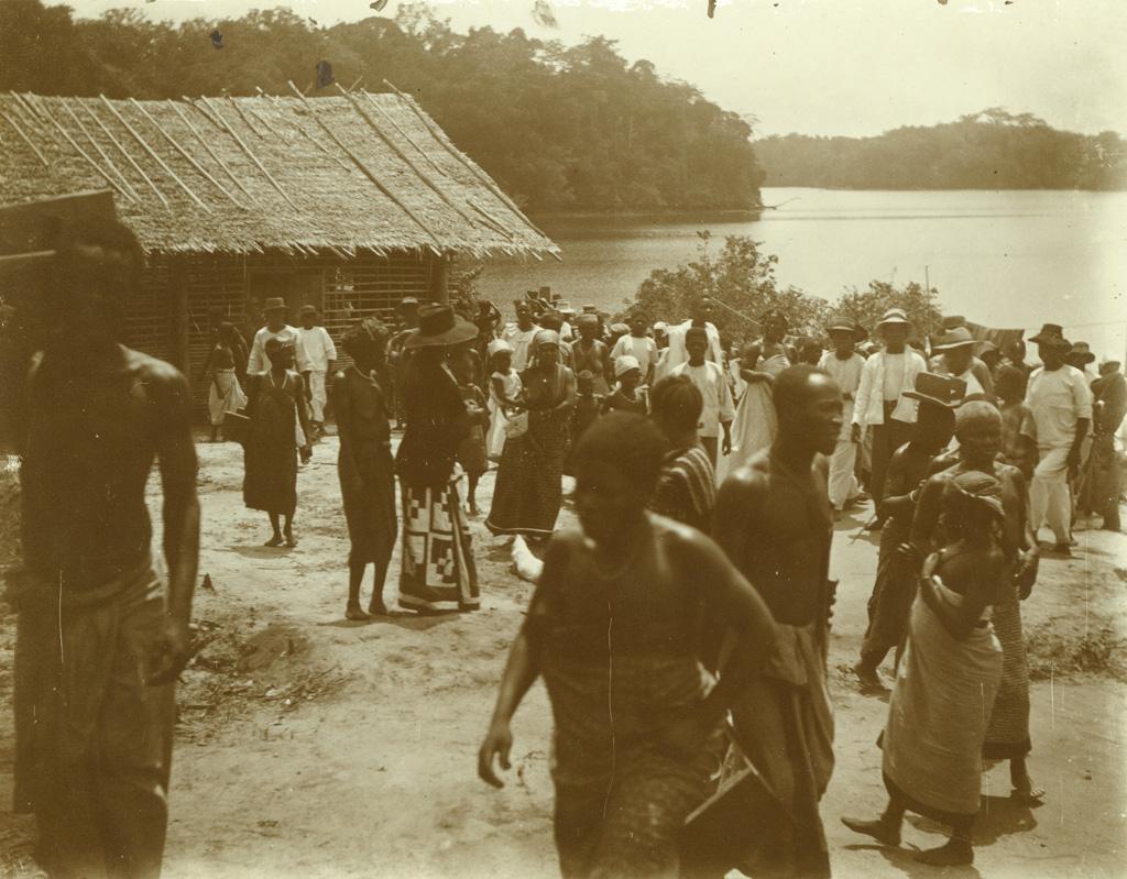 Culte sur les bords de l'Ogooué