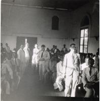 Dans la chapelle de Ndoungue