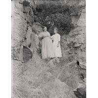 Dans les rochers de Mafube le jour de l'anniversaire de Mme Hughenin