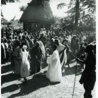 Danses à la chefferie de Bangwa, pays Bamiléké