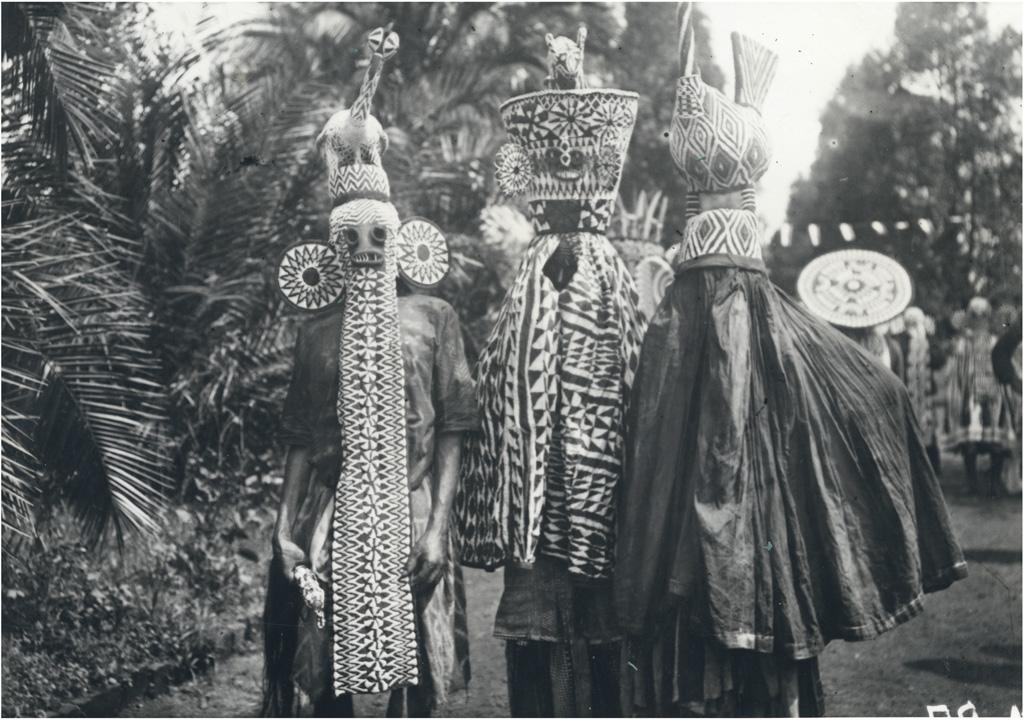 Danseurs Djougous / non identifié (1940/1960)