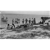 Débarquement sur l'île de Maiao