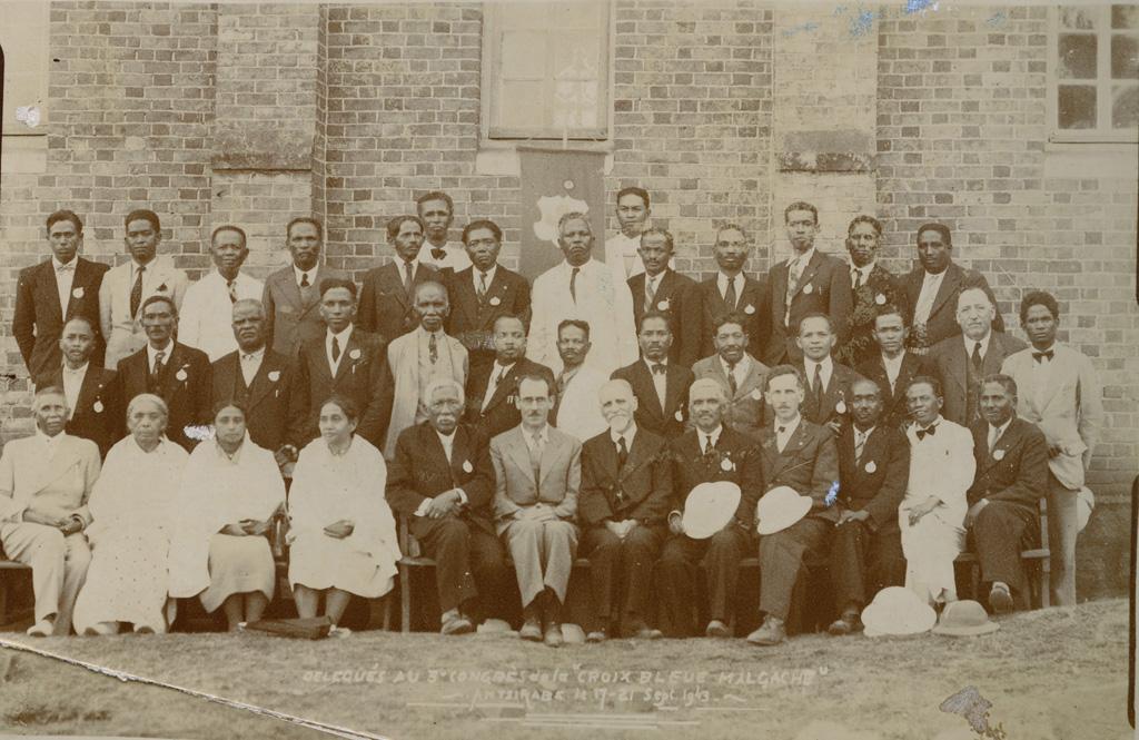 Délégués au 3e congrès de la croix bleue malgache