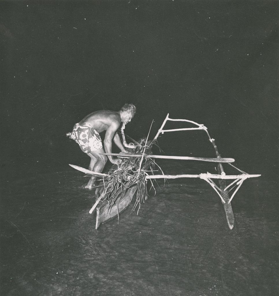 Départ pour la pêche nocturne