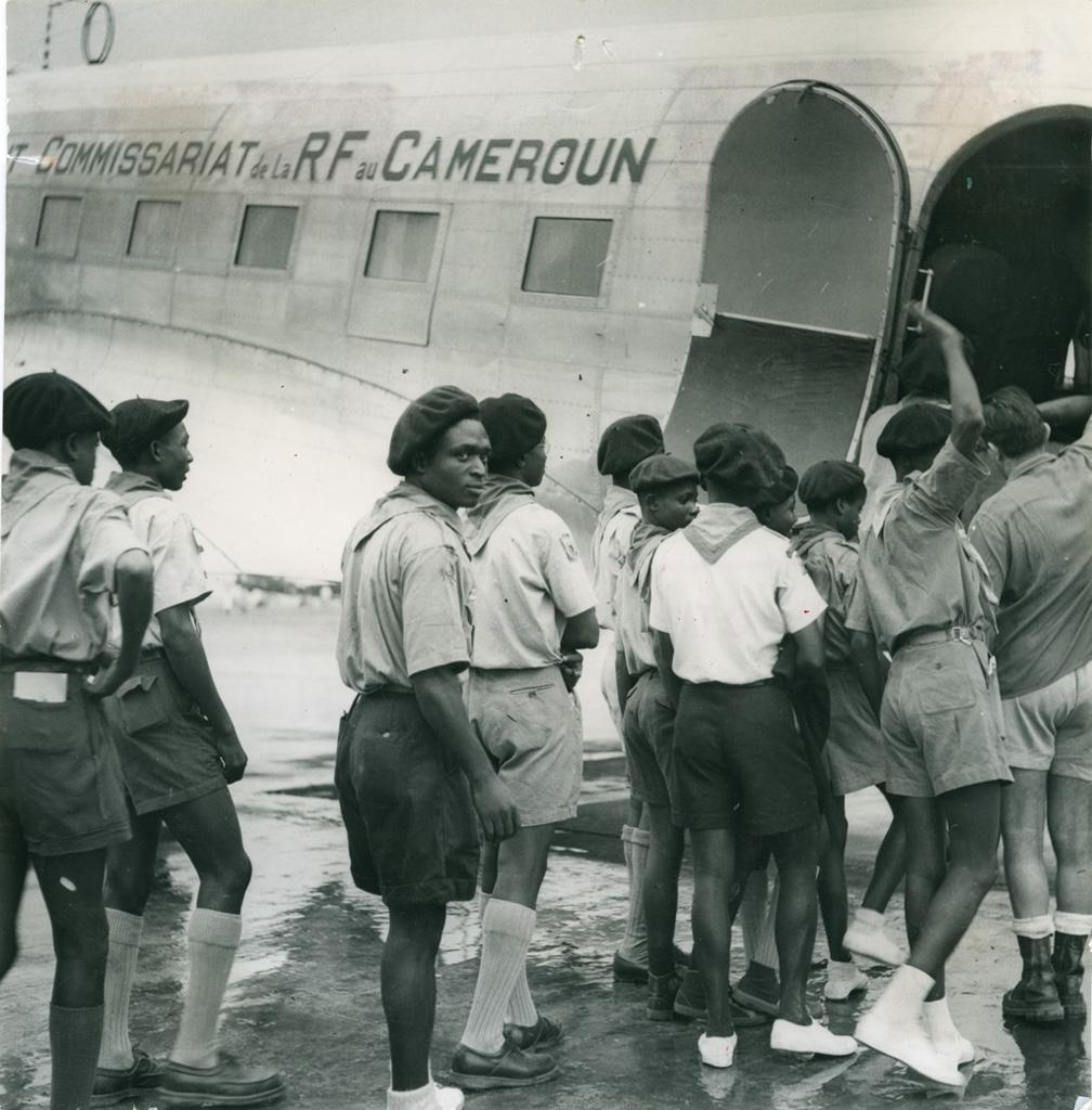 Départs des scouts camerounais pour le Jamborée