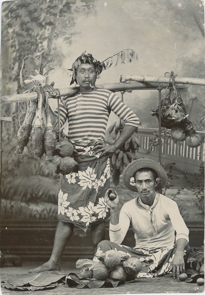 [Deux polynésiens]