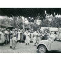 Devant la chapelle, fête de Pentecôte
