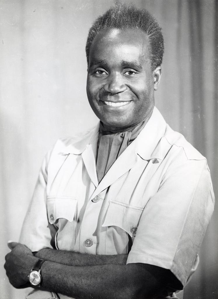 Dr Kenneth Kaunda, le premier président de Zambie