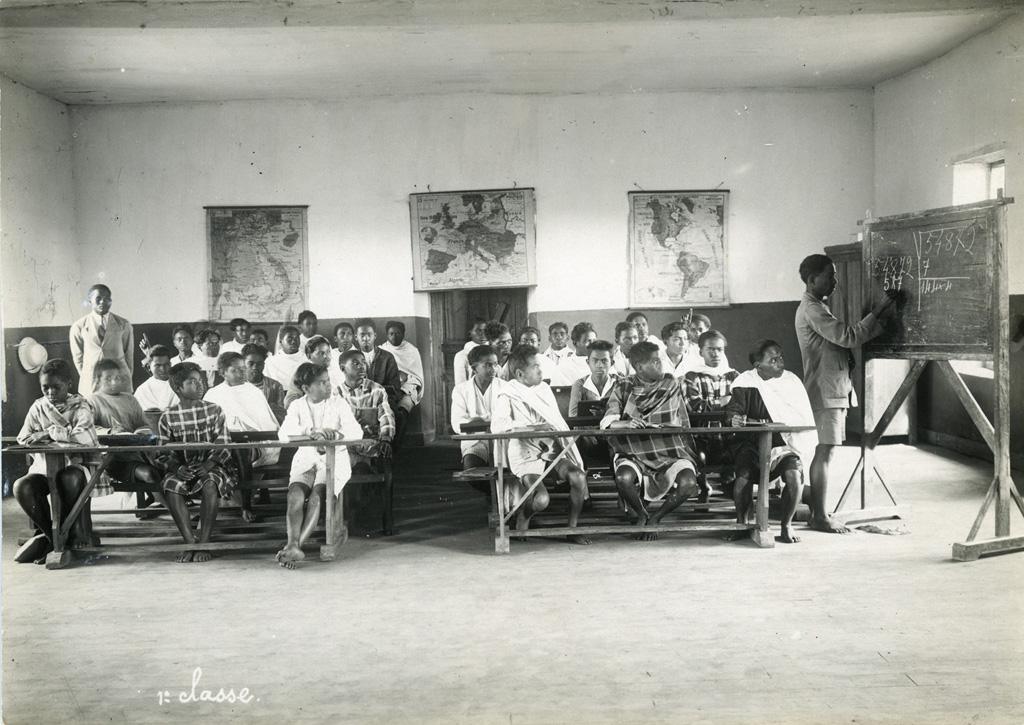 Ecole Benjamin Escande, première classe