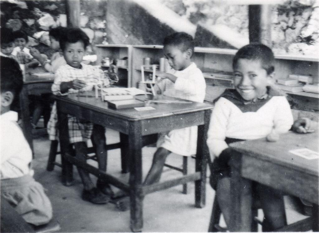 Ecole d'Ambatobevanga, petits garçons