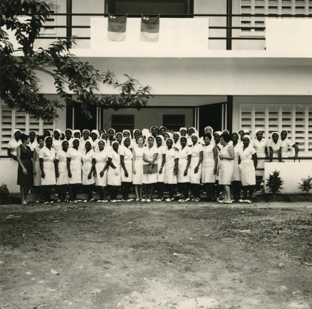 Ecole d'Infirmières de Douala, nouveau pavillon