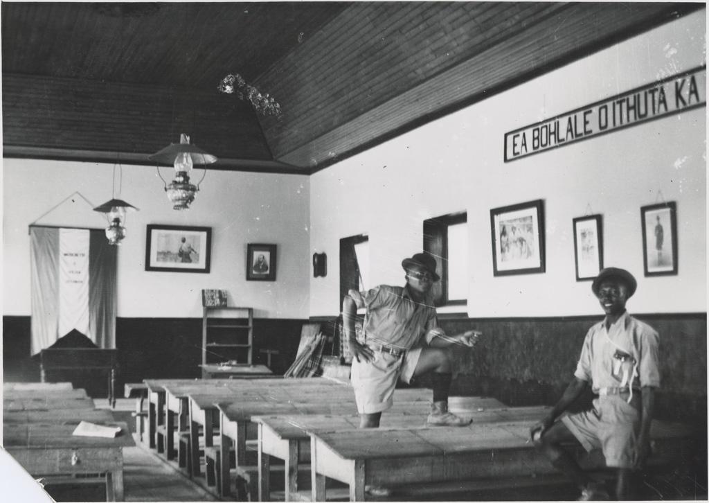 Ecole de Leloaleng, salle de classe