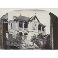 Ecole de filles, quartier d'Ambohimitsimbina (Directrices Melles Marguerite et Blanche Ducommun)