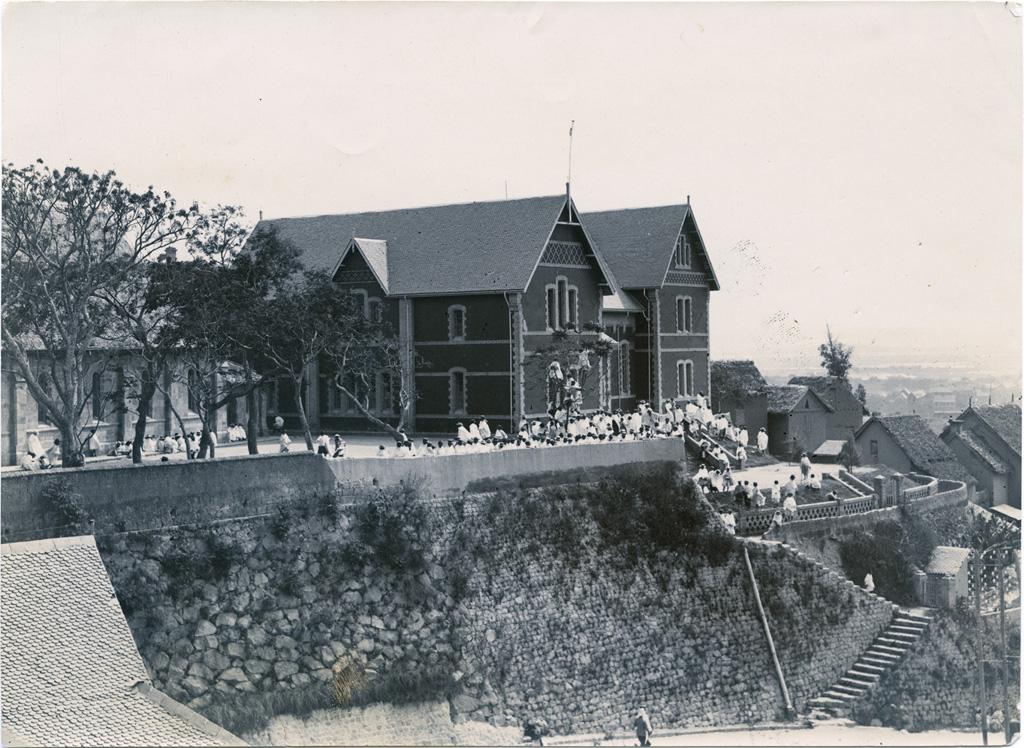 Ecole de garçons de la London Missionary Society (Société de Londres)