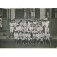 Ecole des garçons de Papeete, la classe de mademoiselle Spelta