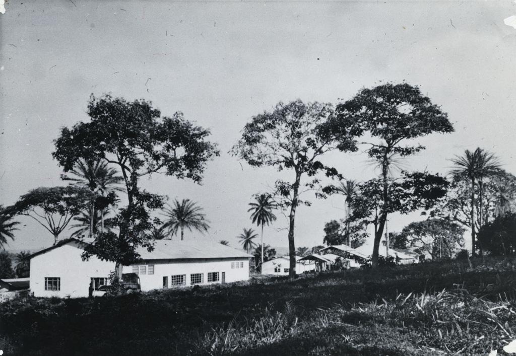 Ecole ménagère de Bangangte, première classe