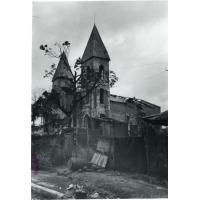 Eglise après le cyclone