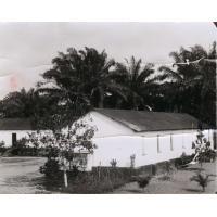 Eglise construite par Saker, fondateur de la mission du Cameroun