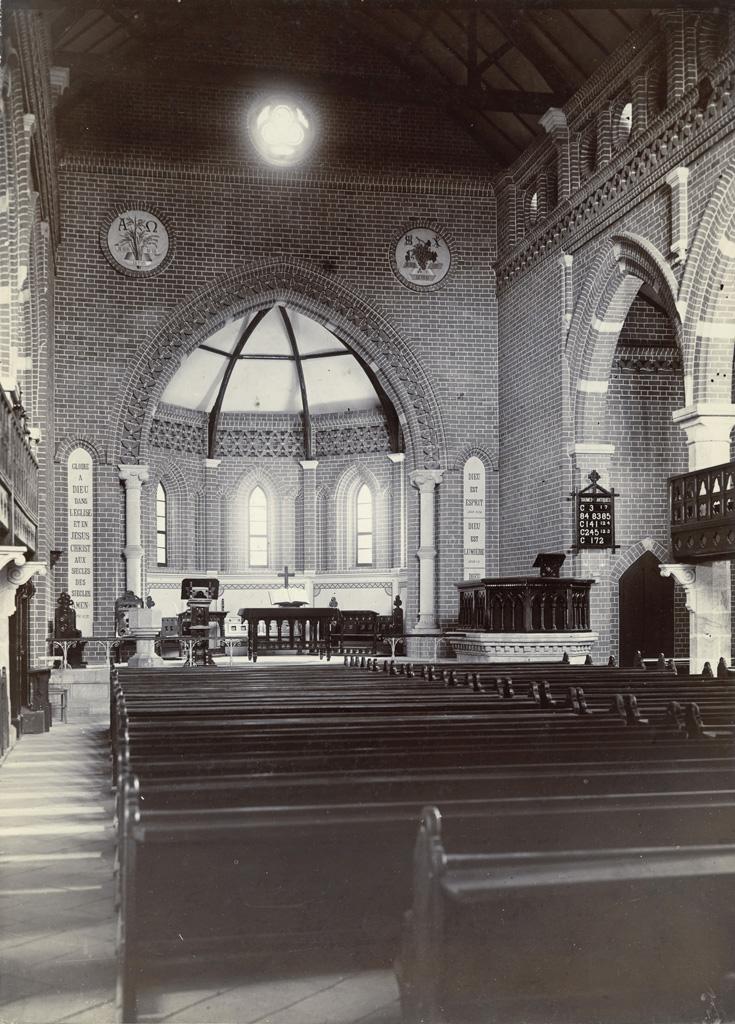 Eglise d'Avaratr' Andohalo - Choeur (coté de l'Est)
