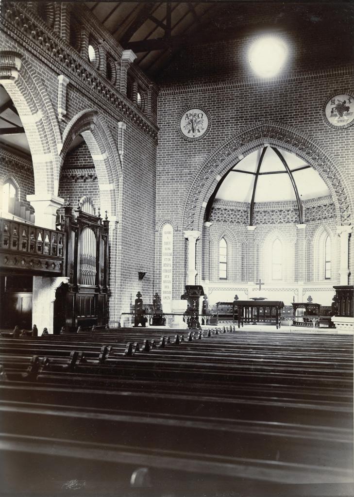 Eglise d'Avaratr' Andohalo - Choeur (coté de l'Ouest)