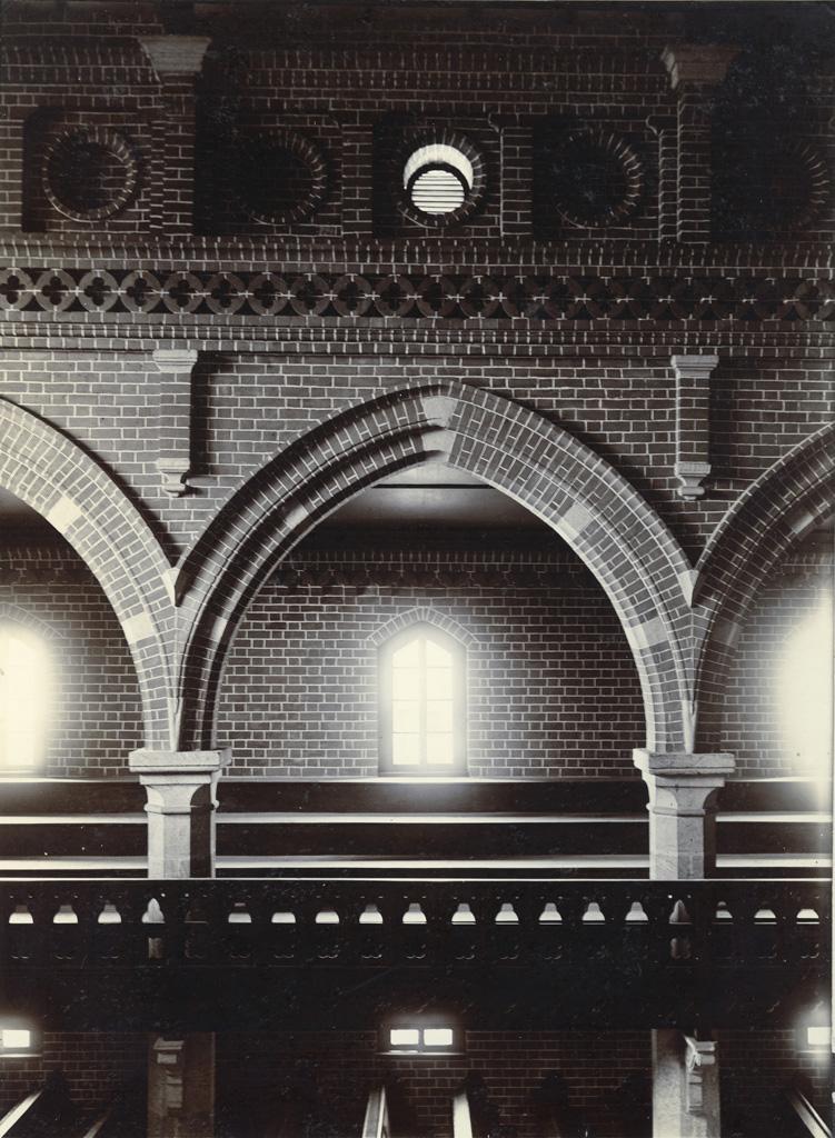 Eglise d'Avaratr' Andohalo - Galerie de l'ouest, vue de la galerie de l'est