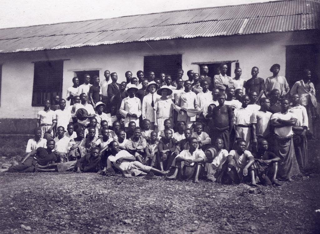 Elèves de l'Ecole Biblique de Ndoungué