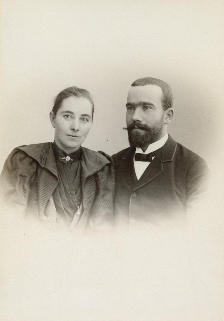 Emile et Marthe Boiteux