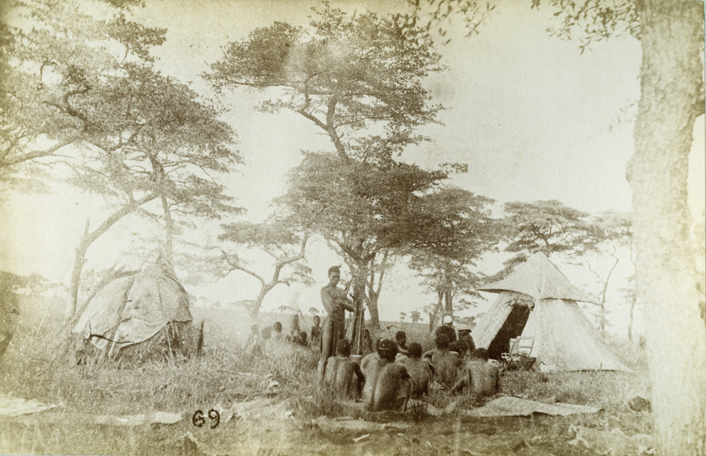 En route pour Lealuyi, mon campement, le 31 décembre 1884